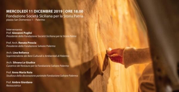 Presentazione del restauro della tela di Gino Morici