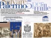 Il 5 per mille a Salvare Palermo