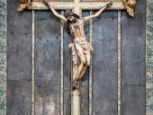 Crocifisso ligneo nella Chiesa di San Nicolò all'Albergheria
